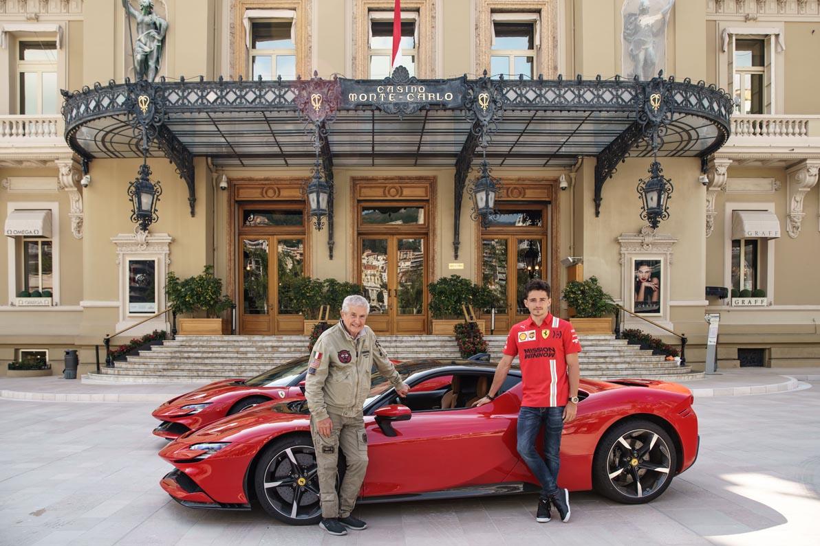 شارل لوكلير يقود سيارة الألف 200035-car-Ferrari-S