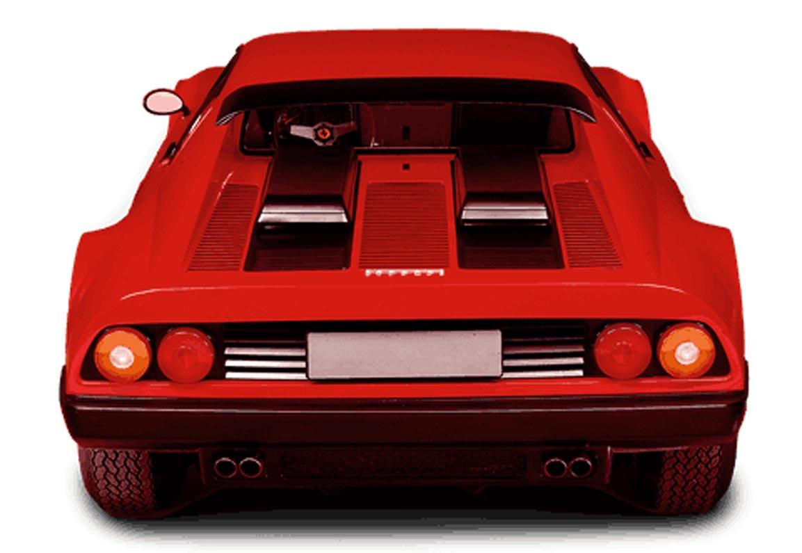 فيراري 512 بي بي الشهيرة – النقلة النوعية في عالم محركات ال 12 اسطوانة المسطحة