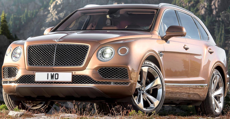 أقوى سيارات الدفع الرباعي - بنتلي بنتايغا 2020-
