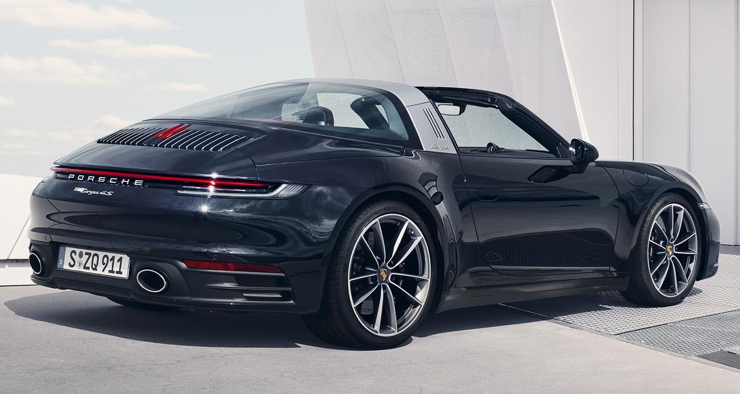 بورش 911 تارغا4 2021 الجديدة بالكامل - أنيقة فخمة وفريدة من نوعها - موقع  ويلز