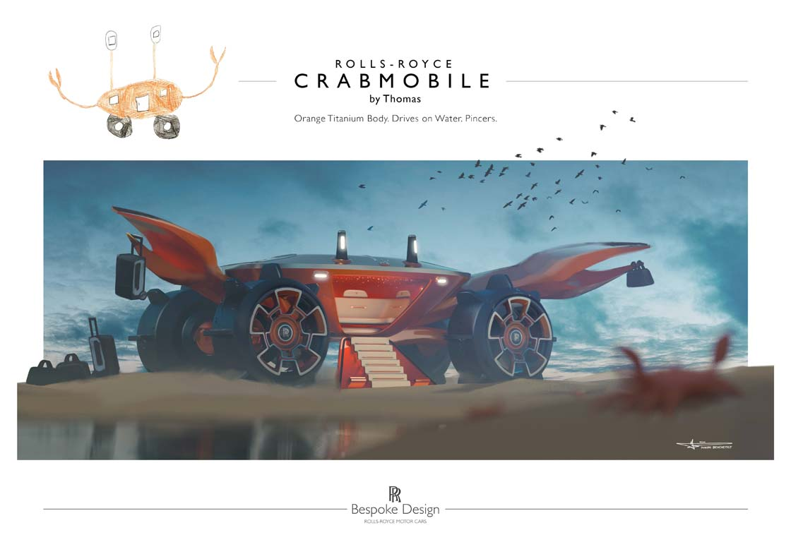 Rolls-Royce Motor Cars Lebanon Invites Young Designers To Create Their Dream Car Of The Future