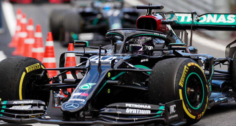 مرسيدس تحقق الثنائية في سباق جائزة ستيريا النمسا الكبرى 2020 وفيراري خارج السباق بصفر نقاط