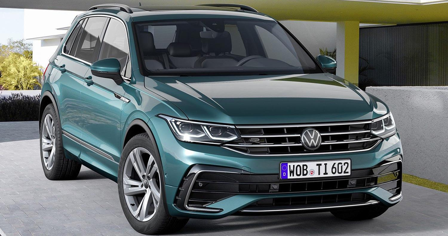The New Volkswagen Tiguan 2021: Sharp Style And Progressive Technology Coming Soon To The Middle East