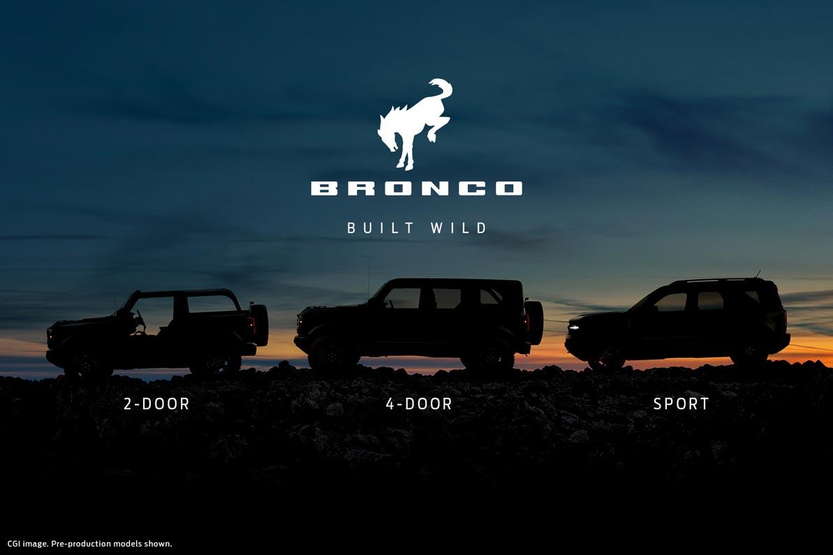 فورد تعلن عن عودة برونكو كعلامة مستقلة لسيارات الدفع الرباعي فائقة التحمل