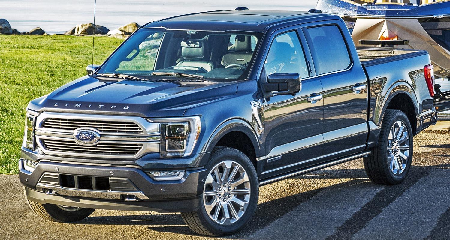 فورد أف 150 الجديدة كلياً تحصل على جائزة الشاحنة الخضراء لعام 2021