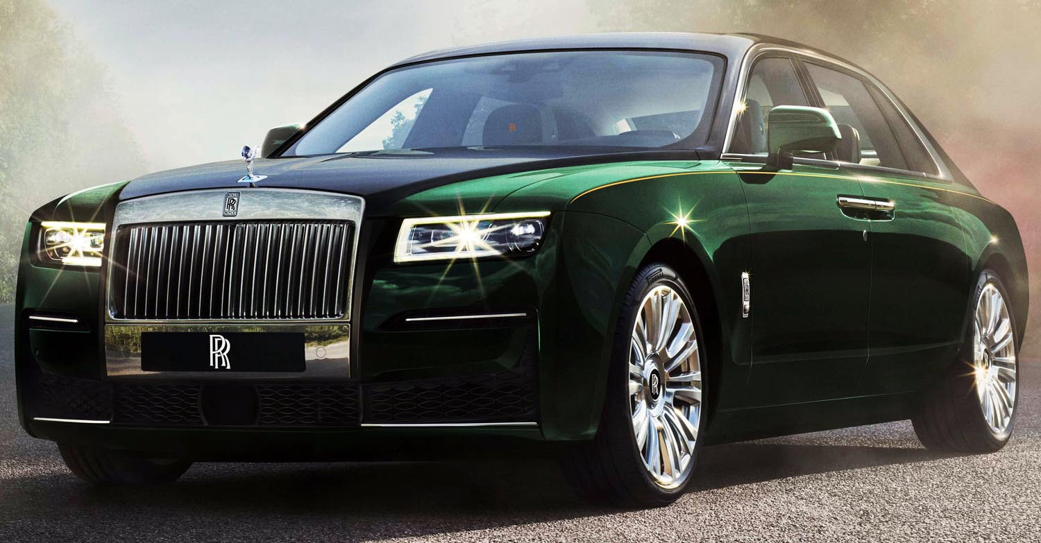 Rolls Royce Ghost Extended (2021)