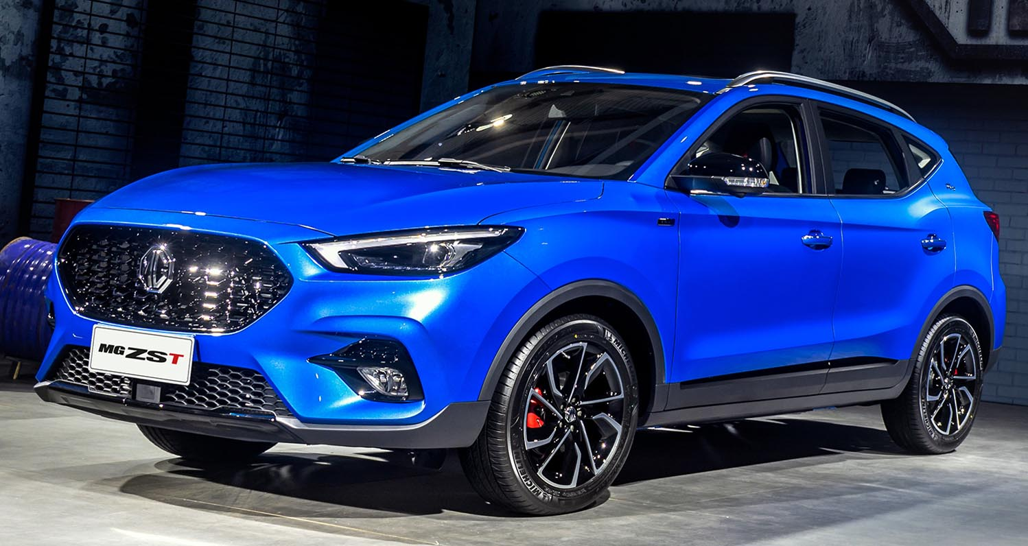 MG Celebrates Middle East Success of new 2021  MG ZST