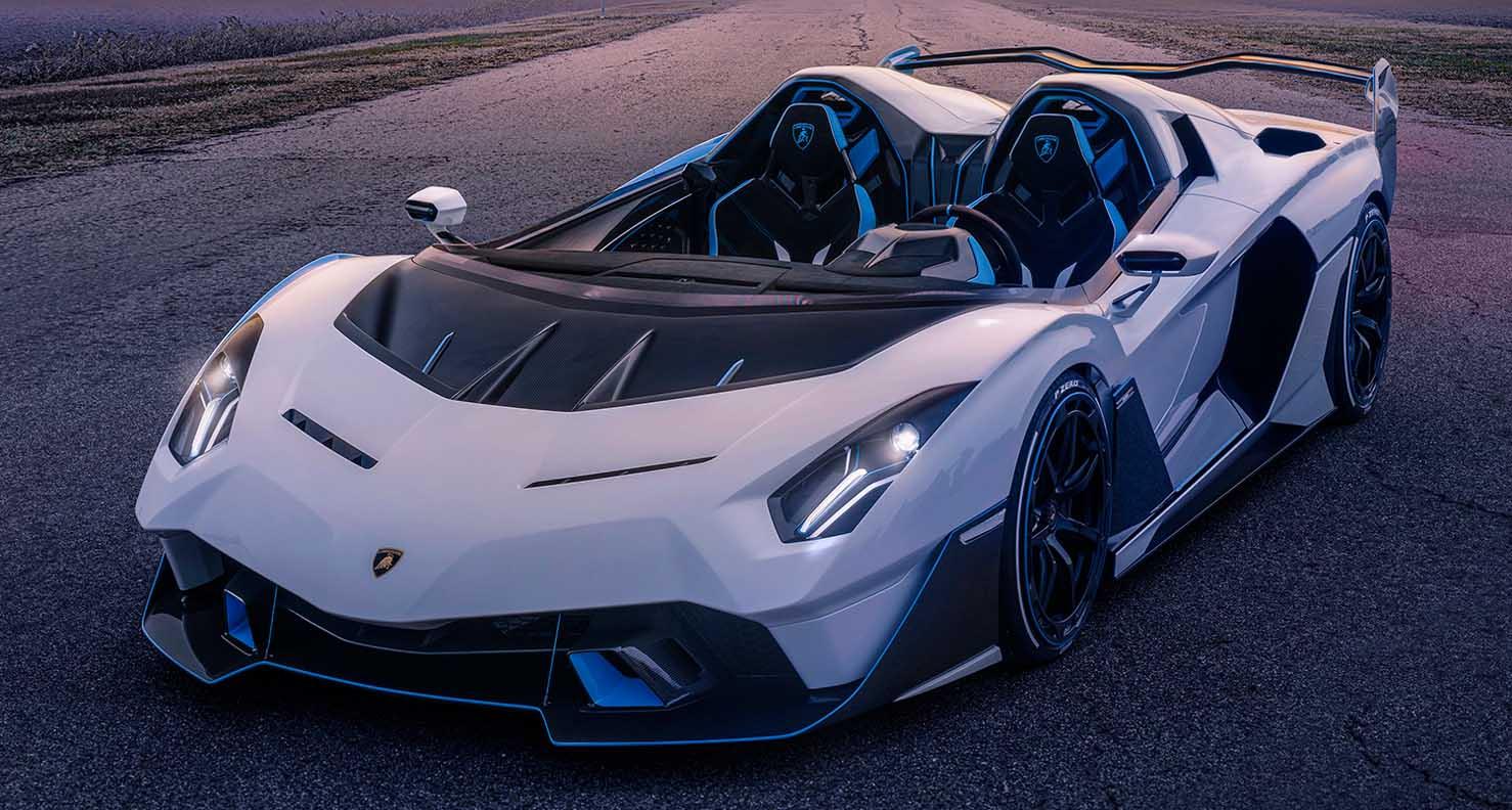 Lamborghini SC20 – The Unique Open-Top Track Car Approved For Road Use