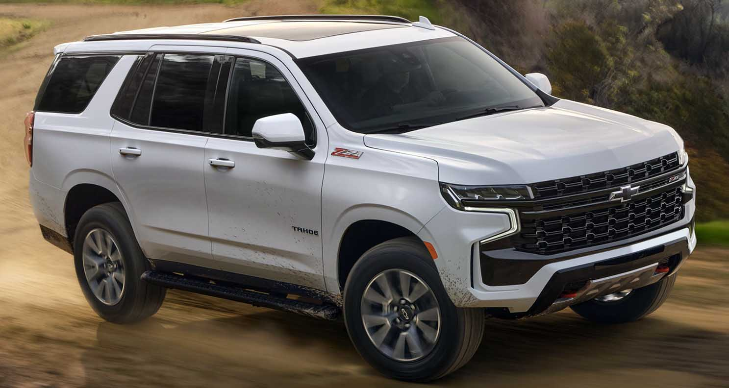 Designed to Endure: the Interior of All-New Chevrolet Tahoe is Adventure-Ready
