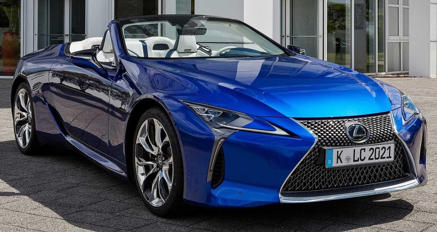 Lexus LC 2021 Convertible – Thrill And Excitement In An Elegant And luxurious form