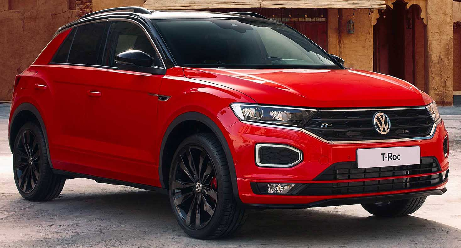 The Powerful and Charismatic Volkswagen T-Roc Arriving Soon to the Middle East