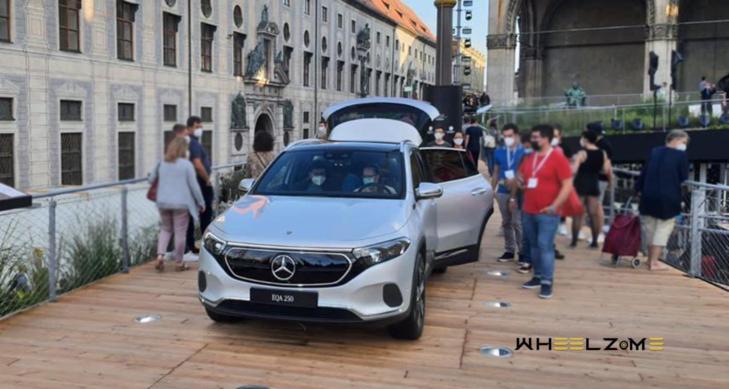 The All-New Mercedes-Benz EQA 2022 – a Luxuriously Compact Electric Crossover
