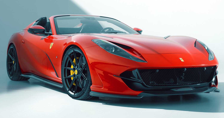 Ferrari 812 GTS – The Extra Power And Performance By Novitec