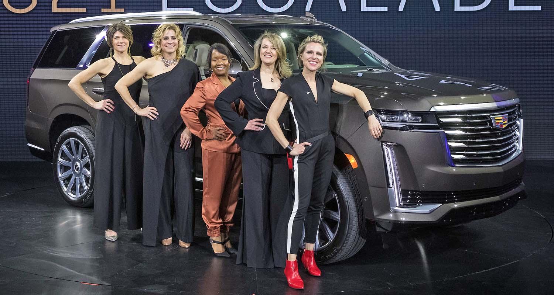 Cadillac Celebrates The Female Icons Behind The Luxury 2021 Escalade On International Women's Day