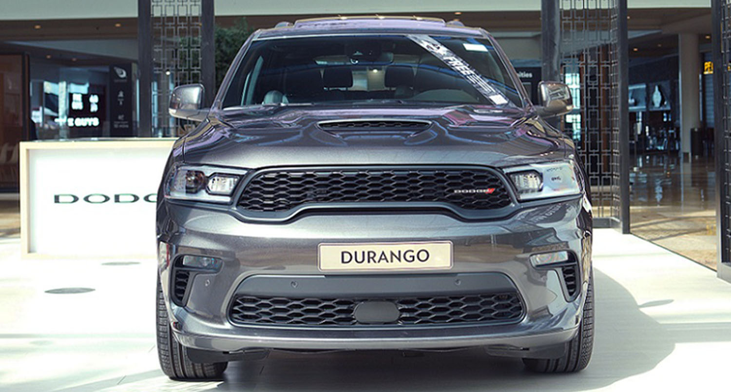 The Redesigned 2021 Dodge Durango Has Arrived In The UAE