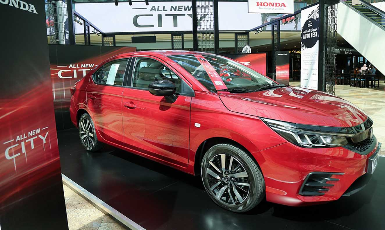 All-New Honda City Makes UAE Debut At Auto Fest 2021