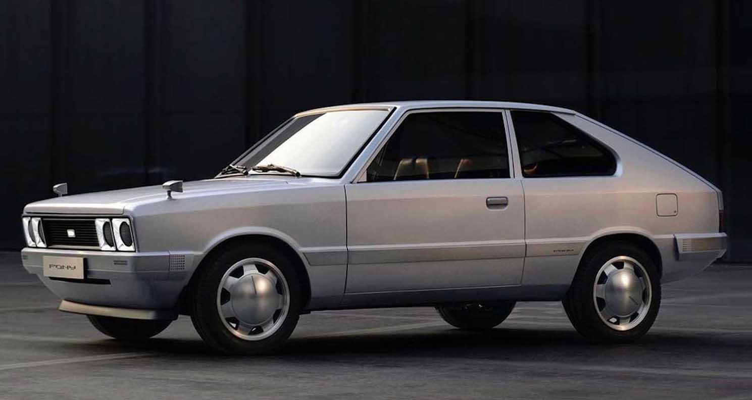 Hyundai Pony Concept (2021)