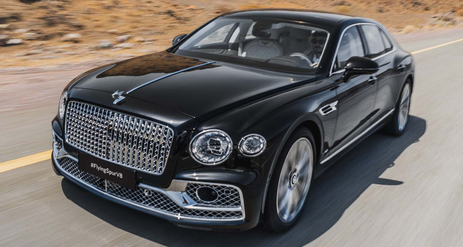 Bentley Flying Spur Ready To Soar With V8 Power Across The Middle East
