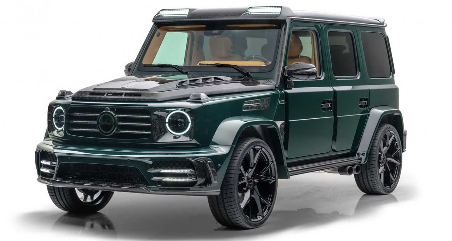Mansory Gronos 2021 – Mercedes AMG G63 Complete Conversion
