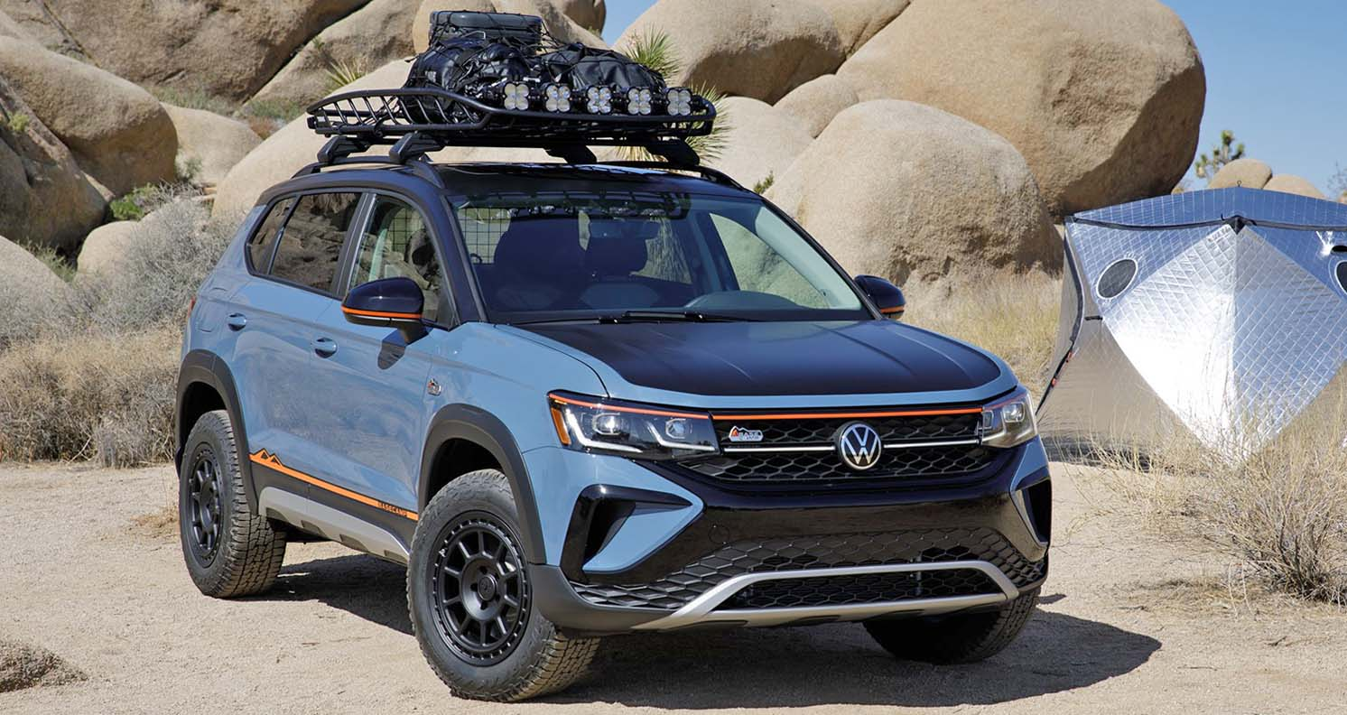 Taos Basecamp Concept, A Peek At A Future Accessories Package