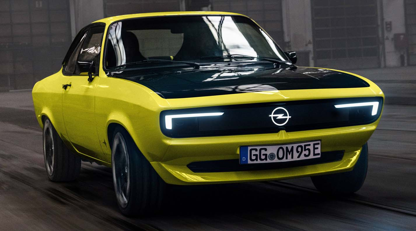 Opel Manta Is Back From The Future