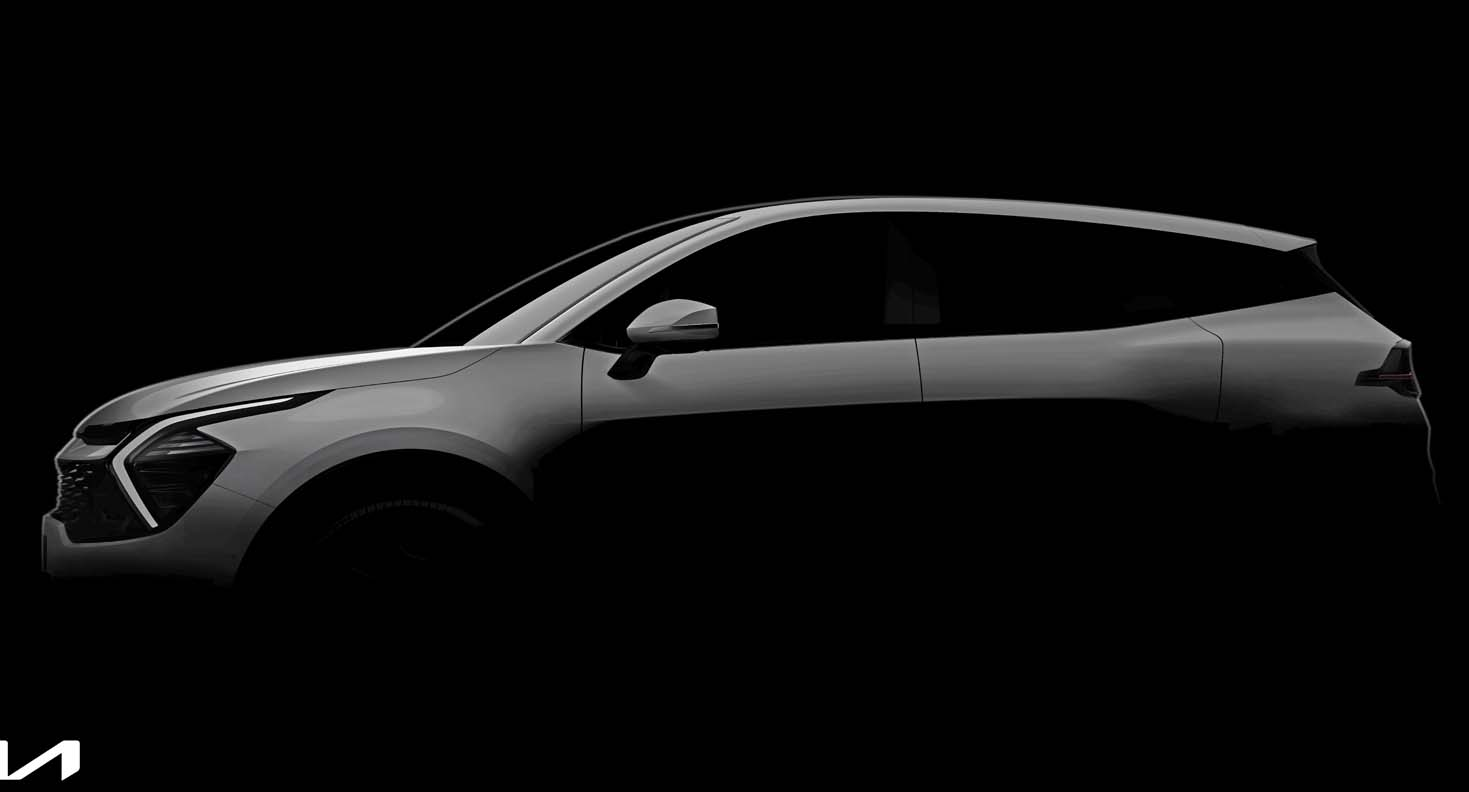 Kia Teases First Official Images Of The All-New Sportage