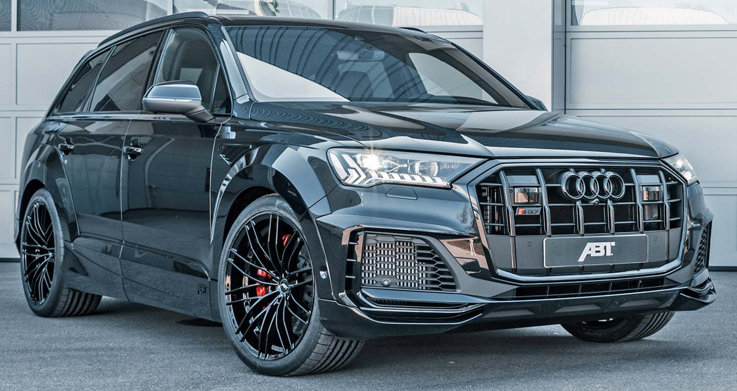 Audi SQ7 2021 – A New Look And 650 HP From ABT