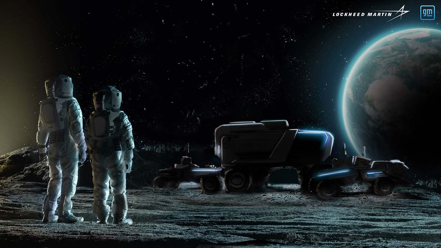 Lockheed Martin And General Motors Team-Up To Develop Next-Generation Lunar Rover for NASA