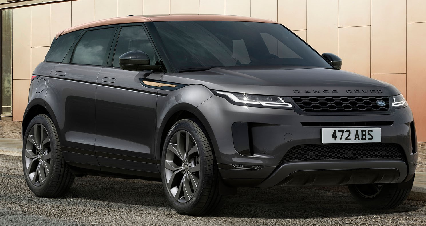 New Range Rover Evoque – Elegant Bronze Collection Edition And Powerful P300 HST