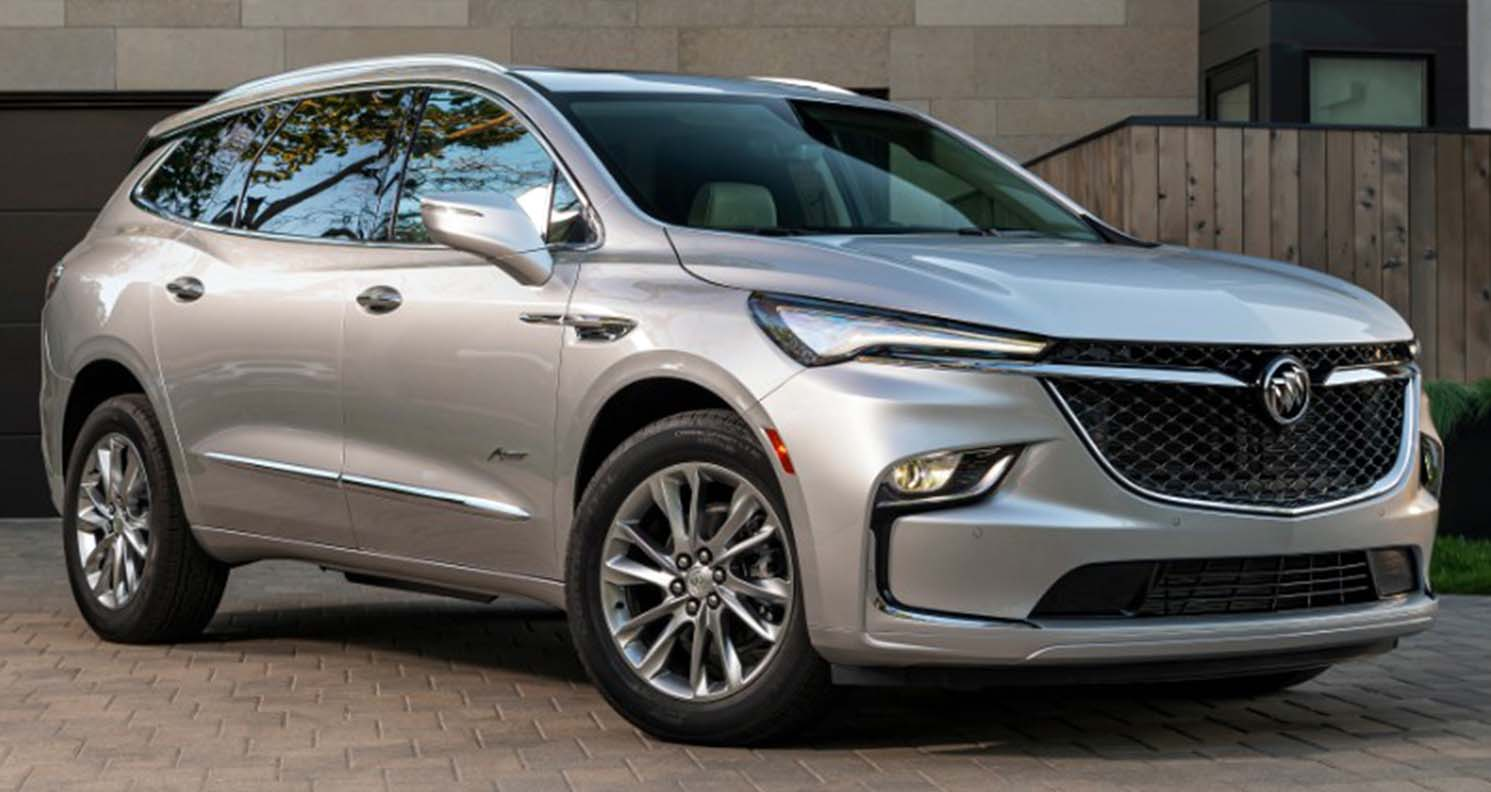 Buick Enclave (2022) – Sharper Design And More Standard Safety Features
