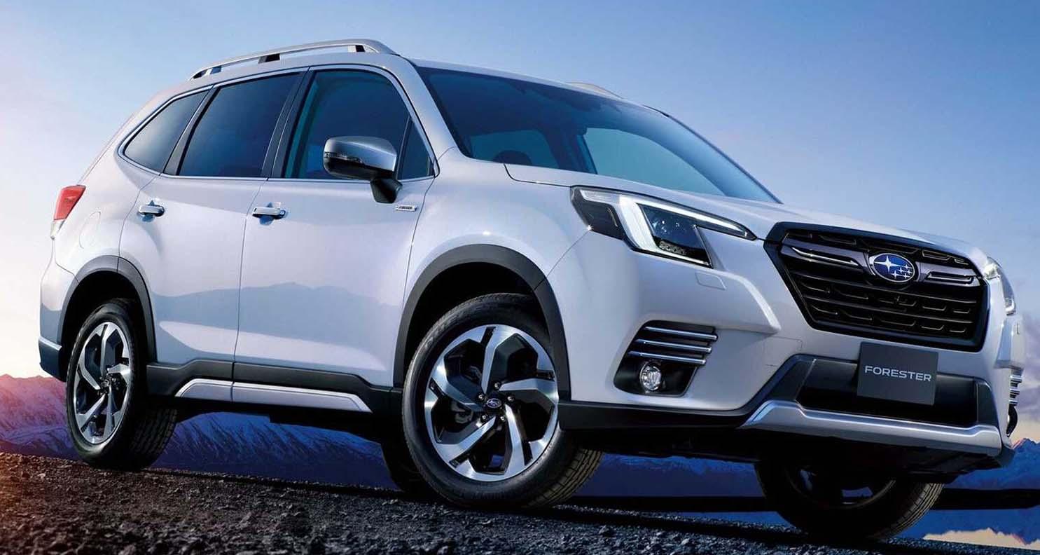 Subaru Forester Facelift (2022) Debuts In Japan