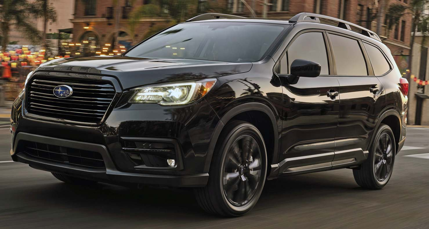 Subaru Announces Pricing On 2022 Ascent – Including New Onyx Edition Trim Level