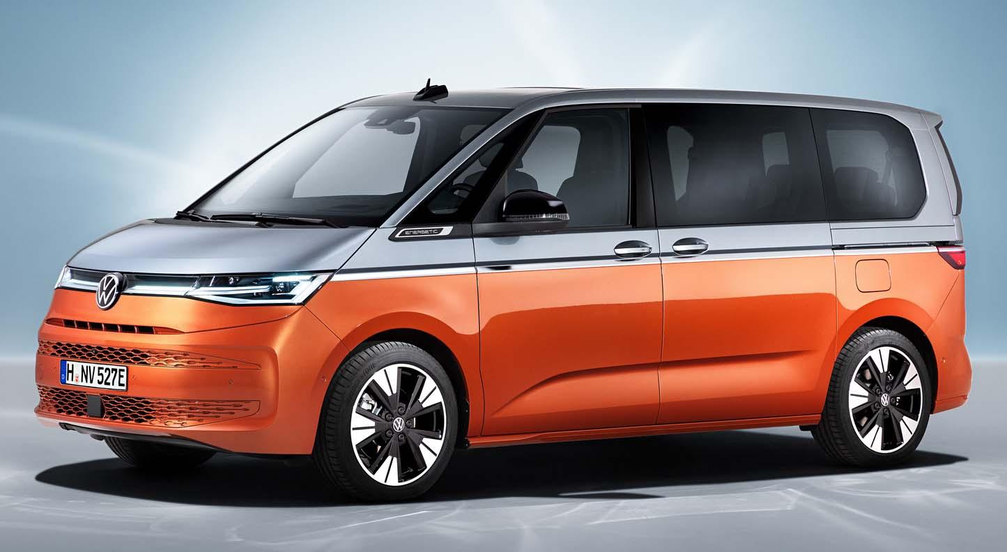 The All-New Volkswagen Multivan (2022)