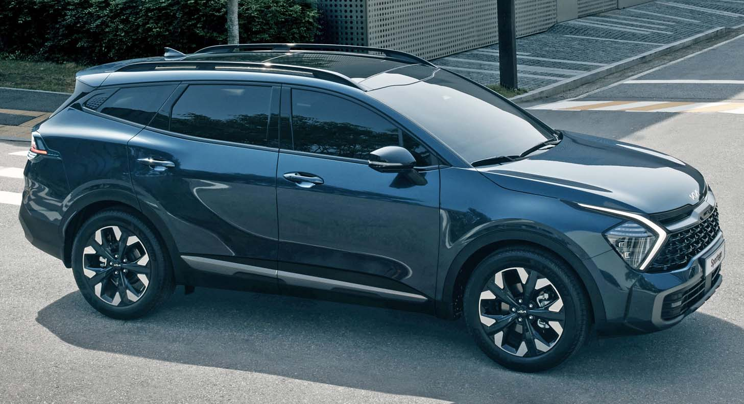 The All-New Kia Sportage (2022) – Sets New Standards With Inspiring SUV Design