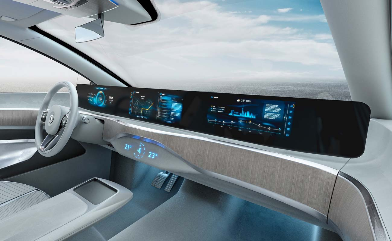 Digital Driving Experience: Continental Receives Major Order For Innovative Full-width Display Solution