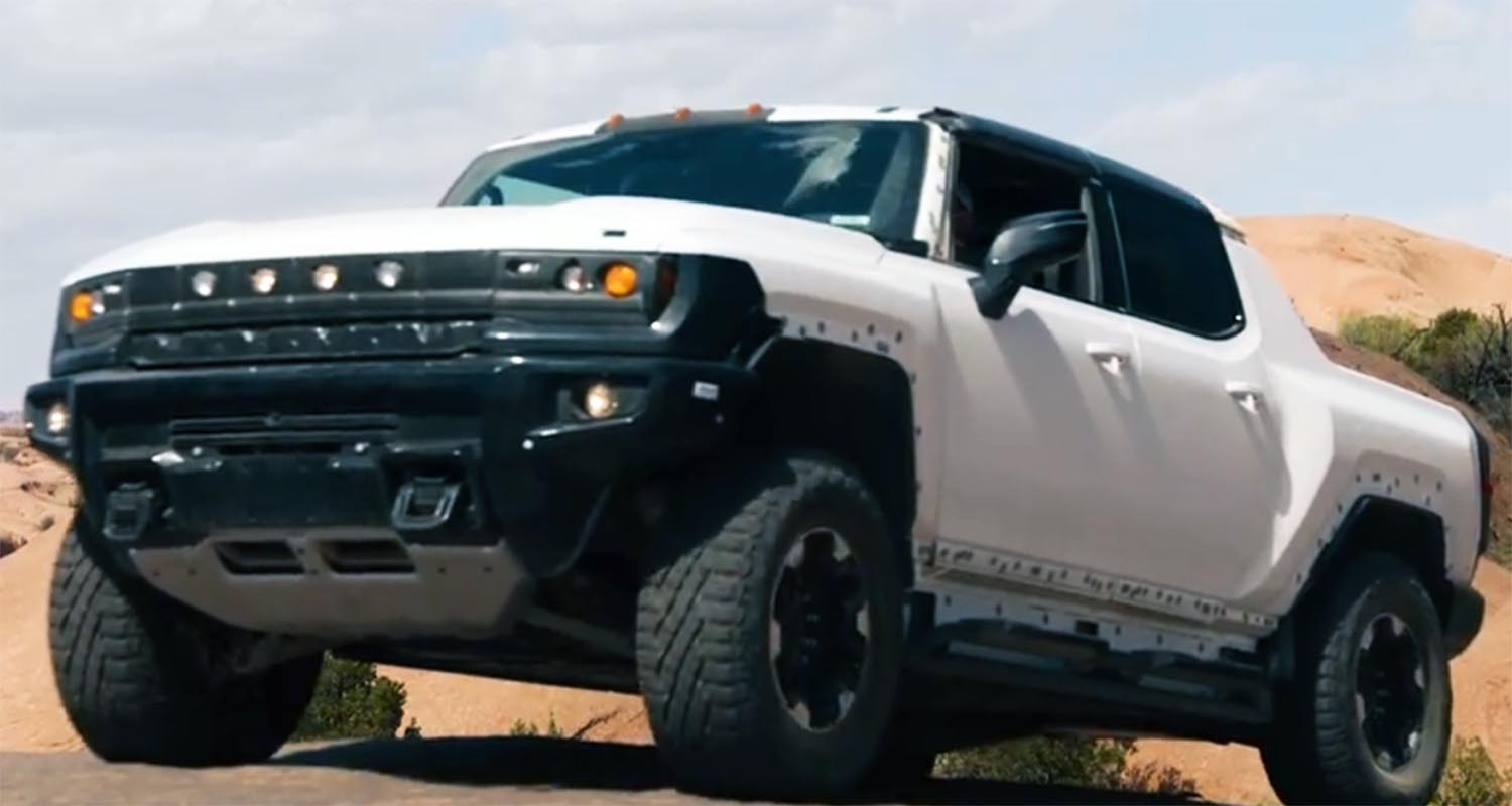 Gmc Hummer EV Levels Up In Off-road Testing, Gets Ready For Desert Adventures