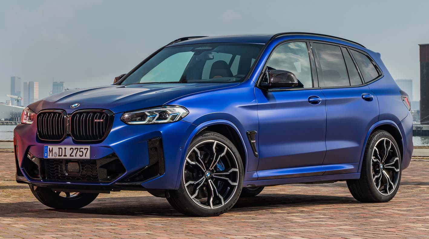 BMW X3 M (2022) – Refreshing Style And Increased Pulling Power