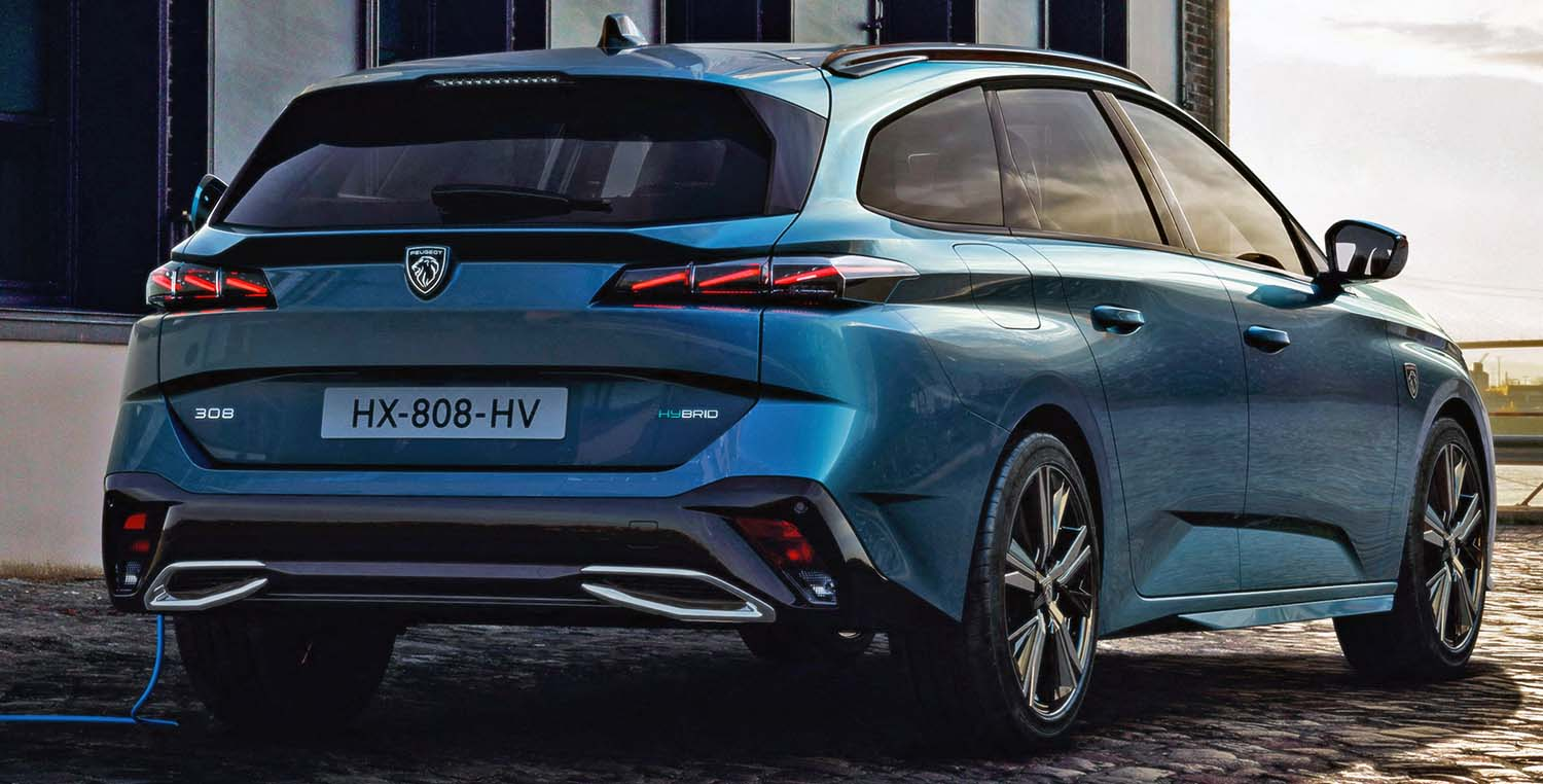 All New Peugeot 308 SW (2022) – The New Face Of Peugeot