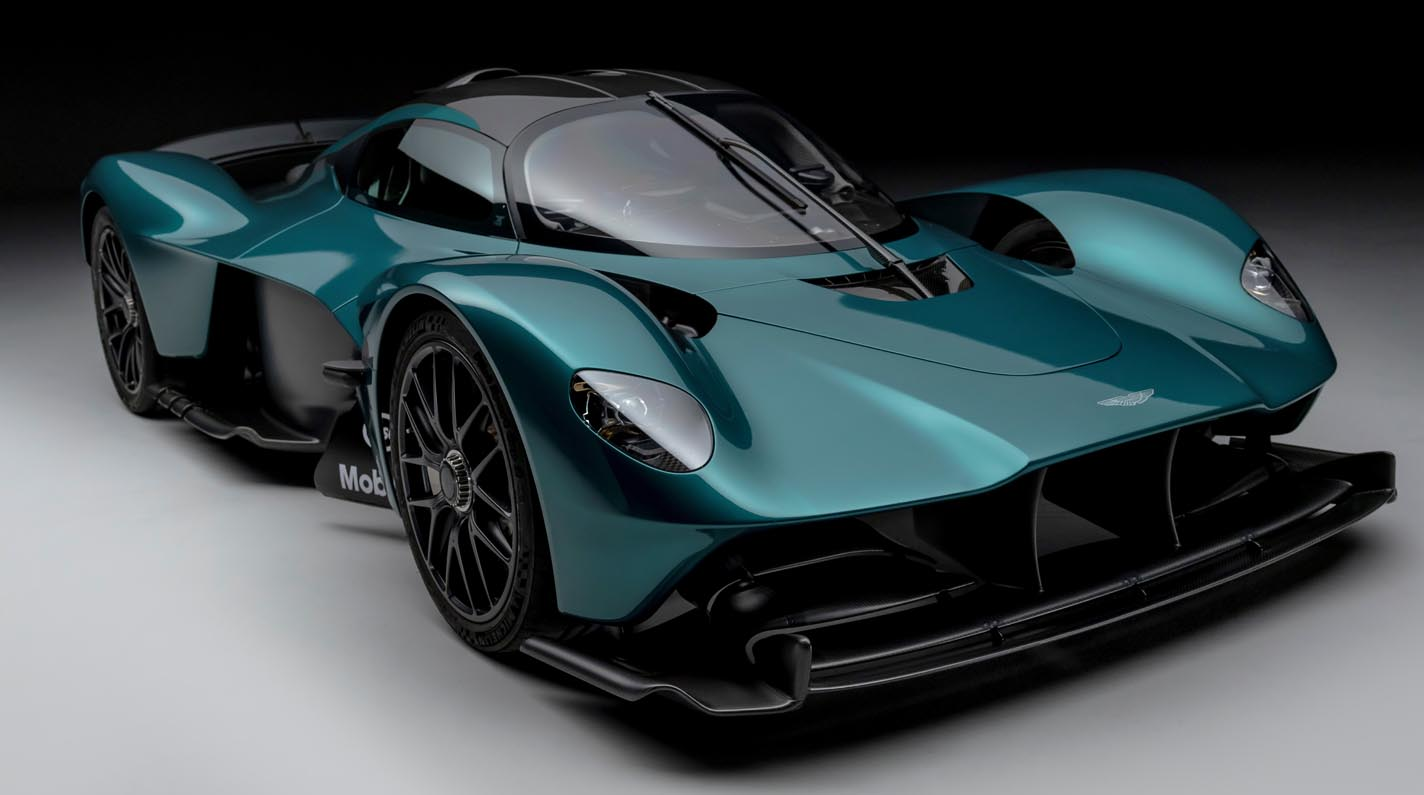 Aston Martin Valkyrie Hypercar Set To Steal The Show At Goodwood Festival Of Speed 2021
