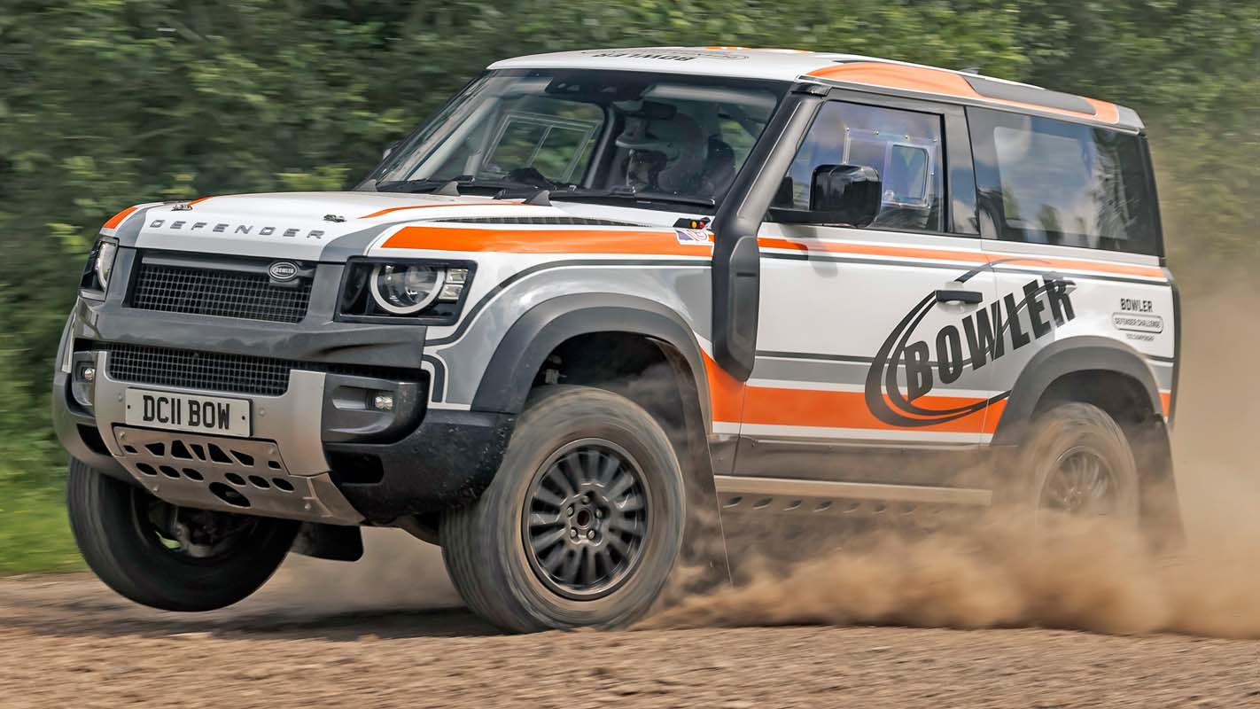 Landrover Defender Goes Rallying – Bowler Transforms Reborn Icon For 2022 Challenge Series