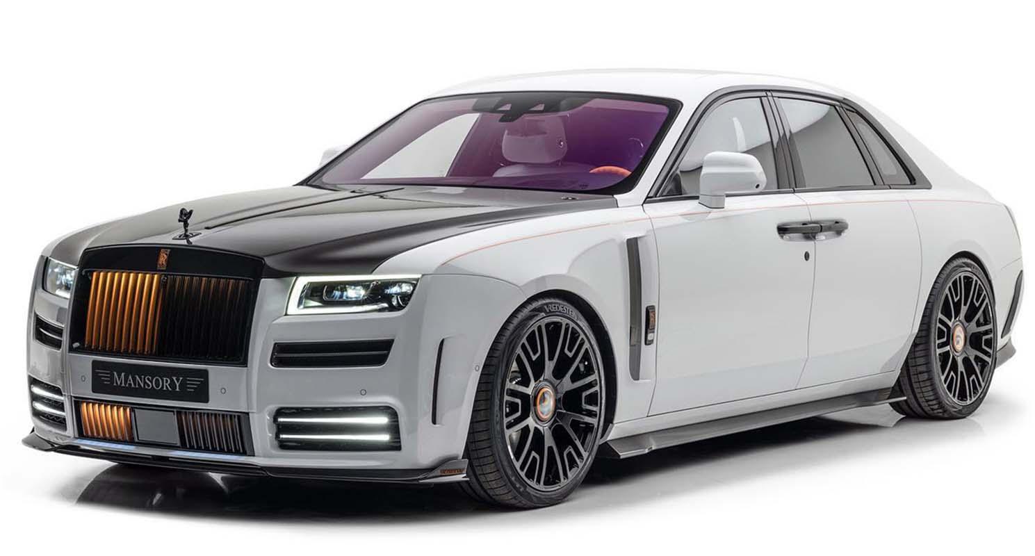 Rolls-Royce Ghost By Mansory