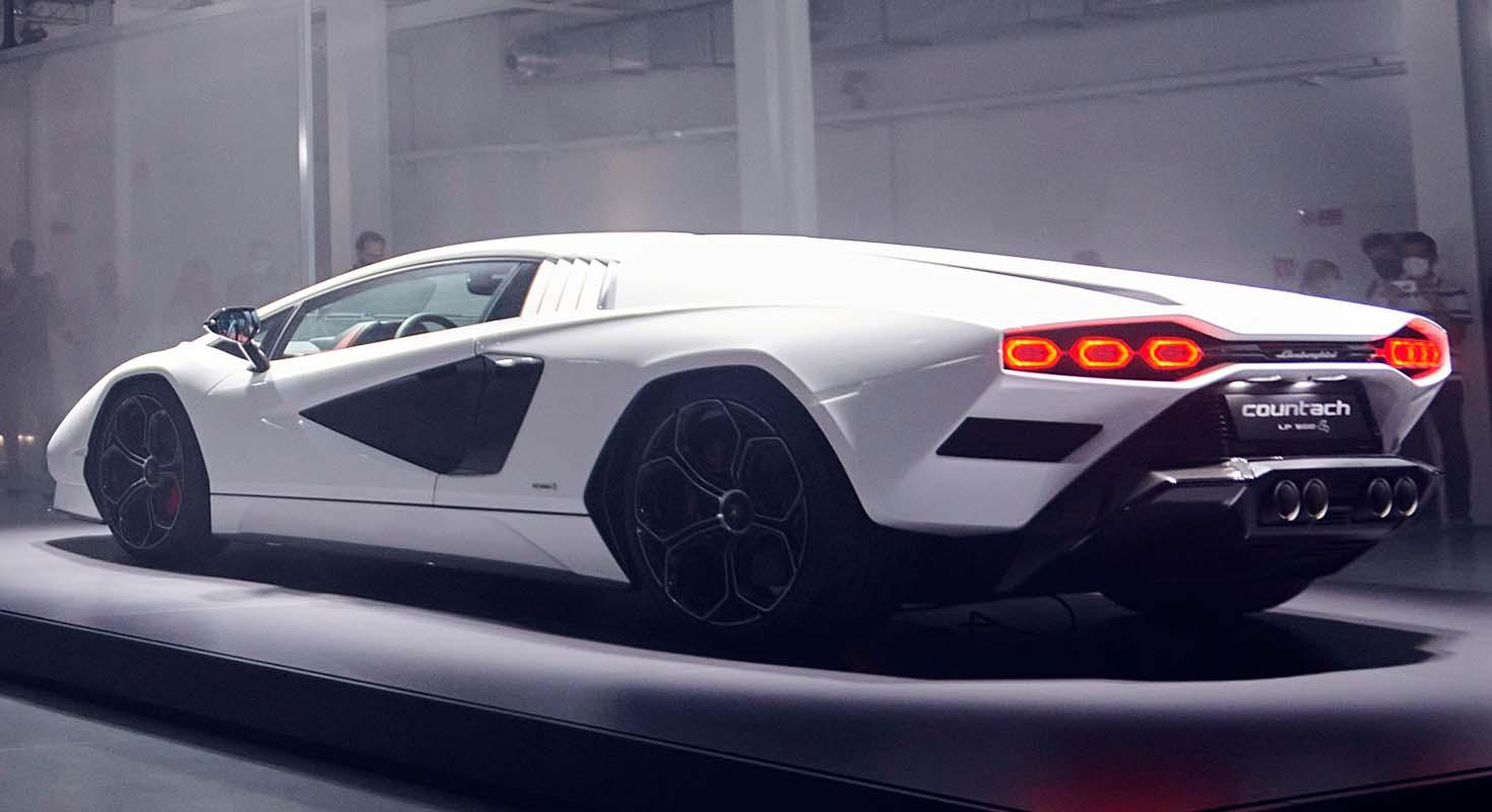 Lamborghini Presents The Countach LPI 800-4 At Milan Design Week, Celebrating Its Uniquely Inspirational Design
