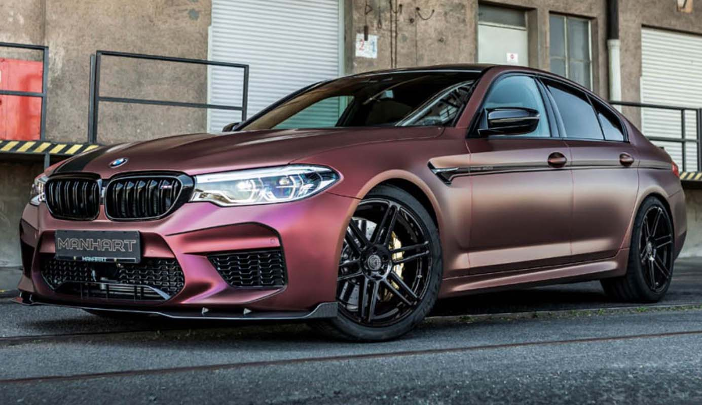 BMW MH5 800 By Manhart – High-performance Sedan With 815 HP And 1,050 Nm