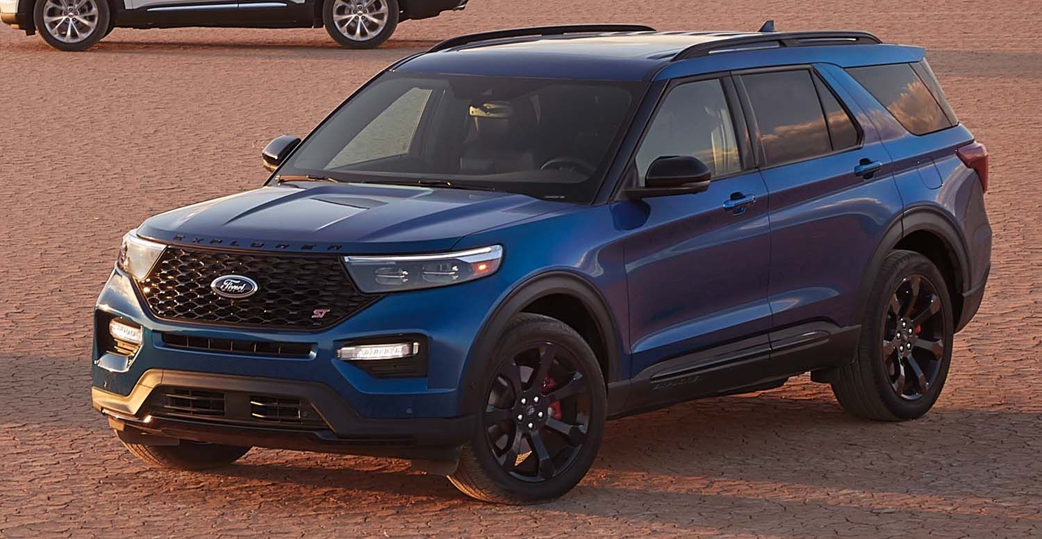 Ford Explorer ST Elevates Performance, New ST-Line Model Revs Up Athletic Style