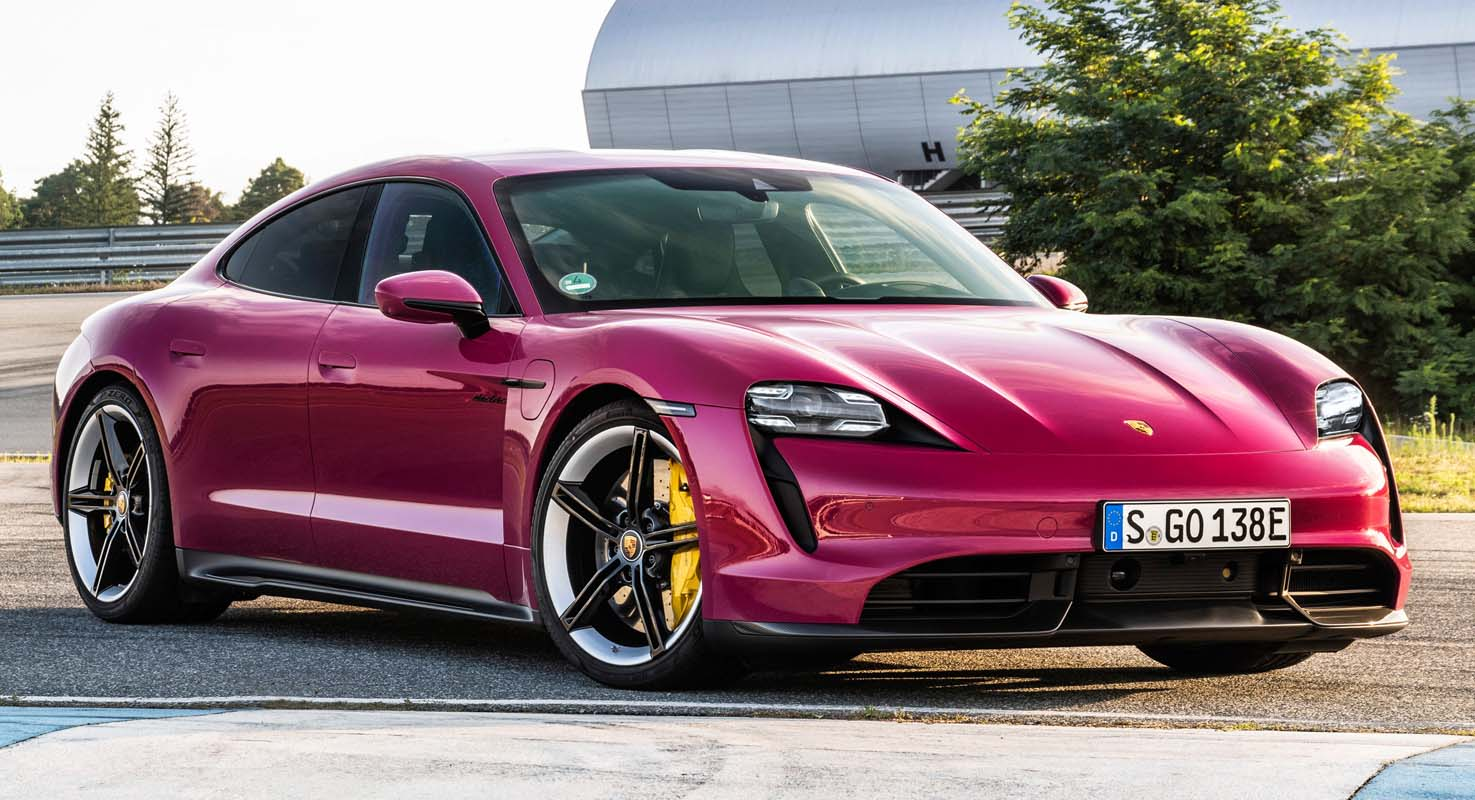 Porsche Taycan Updated – More Range, More Connectivity, More Colours