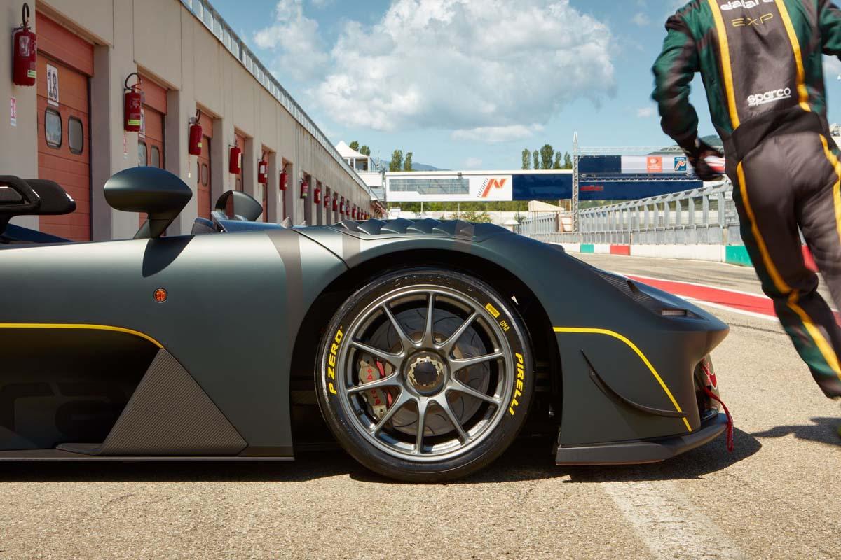 Pirelli P Zero Slick And The Dallara Stradale Exp Conquer Mugello