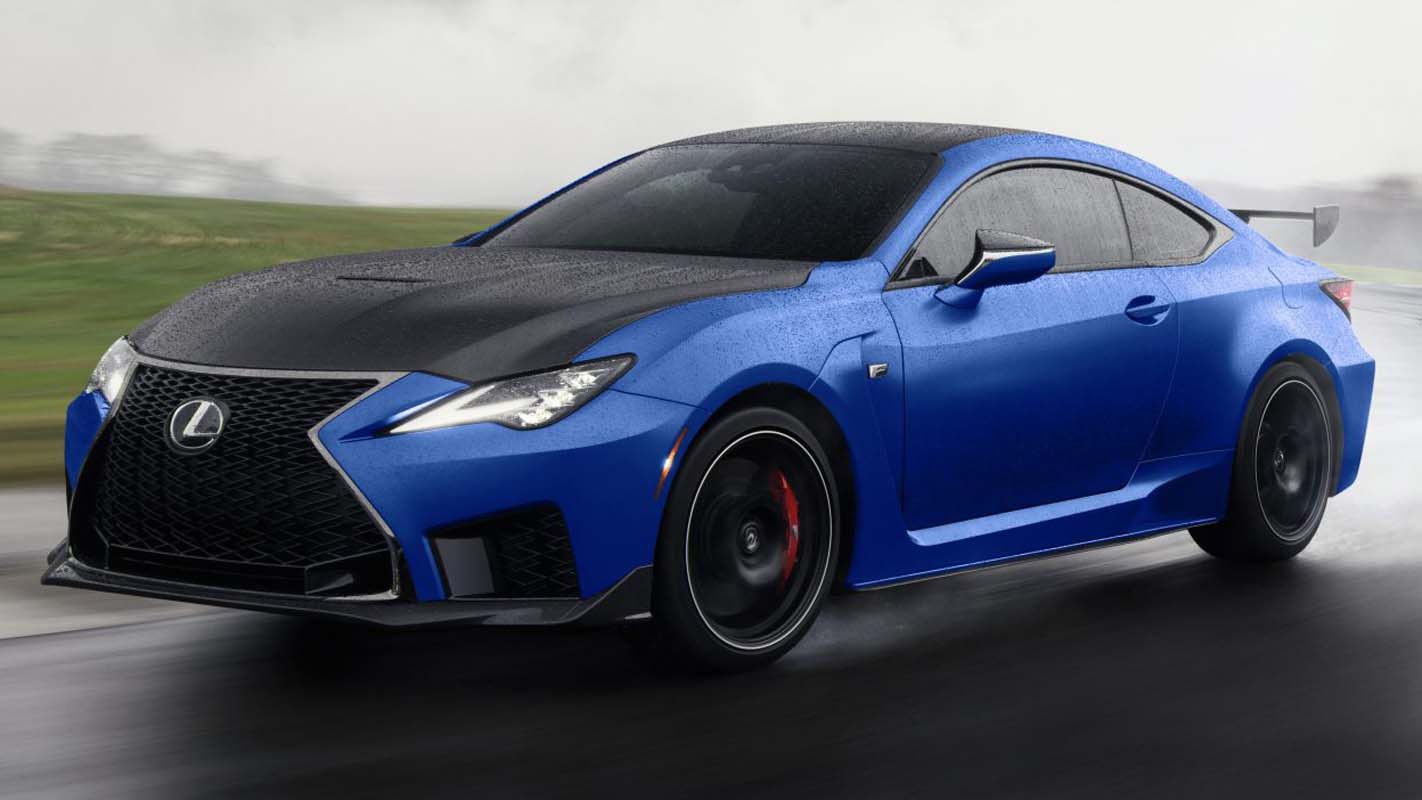 Lexus RC F And RC F Fuji Speedway Edition (2022)