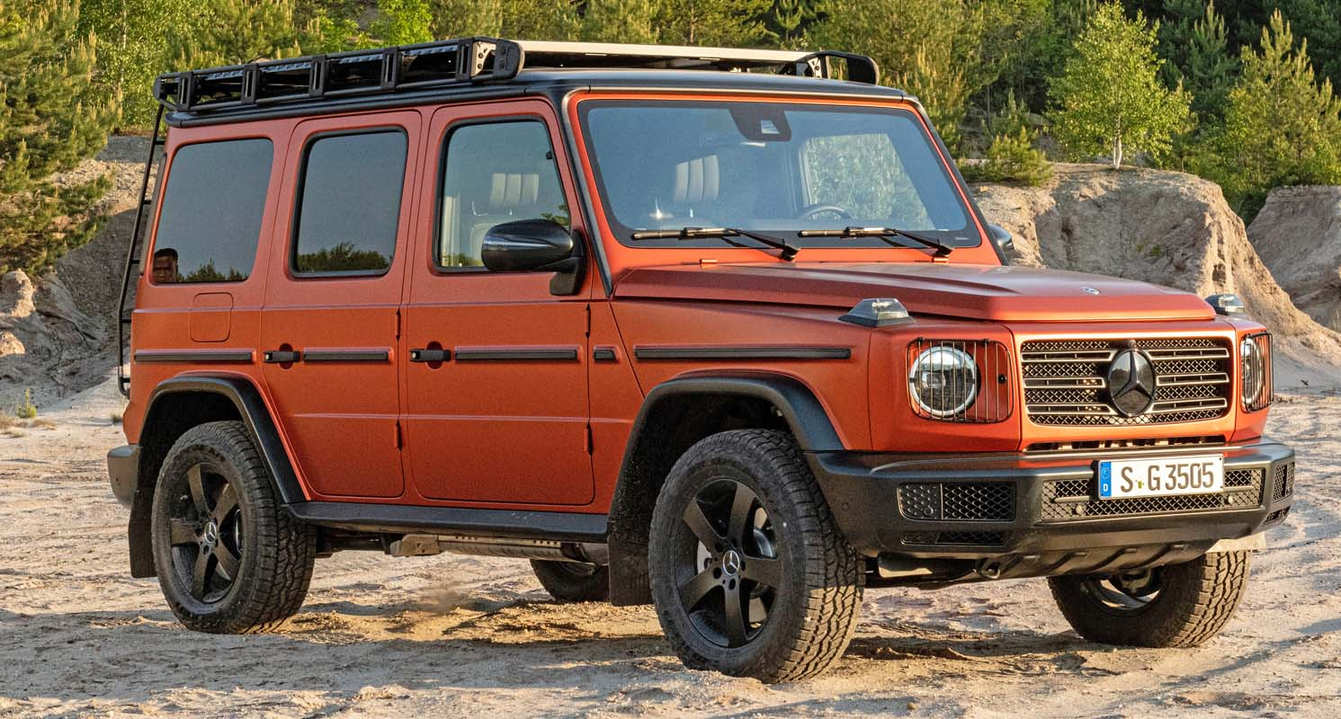 Mercedes-Benz G-Class (2022) With PROFESSIONAL Line Exterior