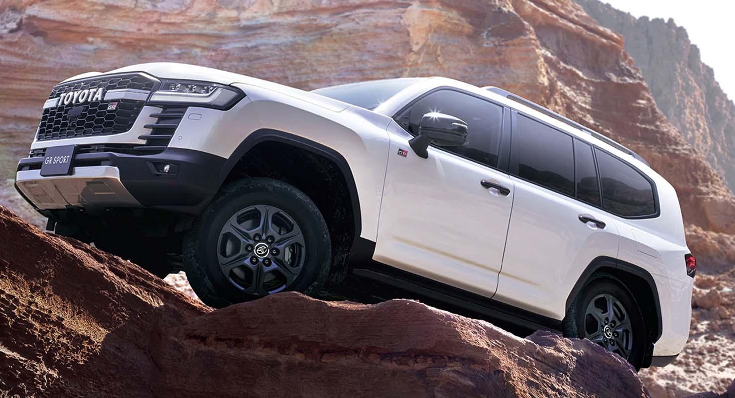 Toyota Reveals All-New Land Cruiser GR SPORT Model In The UAE